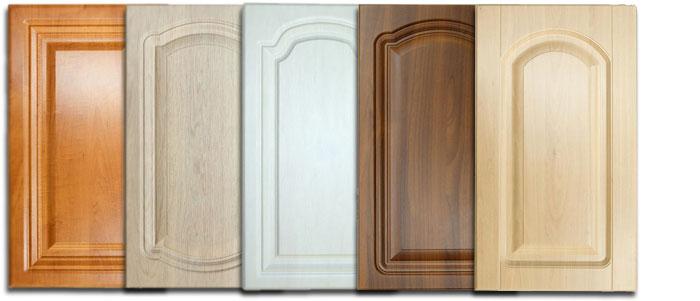 Кухонные фасады: используемые материалы